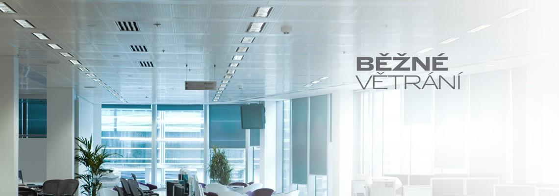 Větrání - vzduchotechnická zařízení pro kanceláře