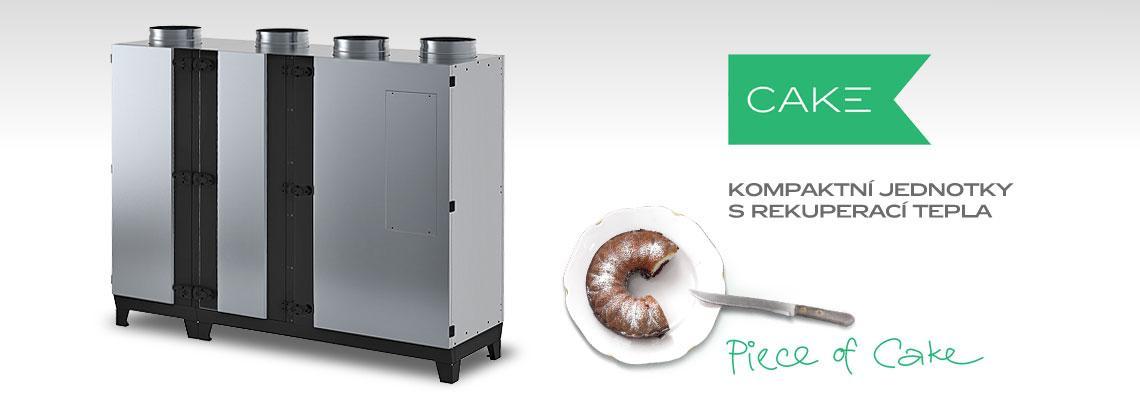 Špičkové kompaktní jednotky s redukcí tepla CAKE