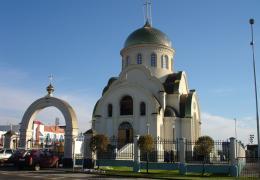 Храм прп. Сергия Радонежского п. Ростоши