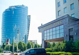 <p>For the Country Park, a newly built modern office centre in Moscow with a total area of 27.800 m2, 21 floors, el</p>