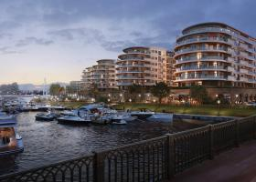 <p>This residential complex is situated on Krestovsky Island – the most prestigious quarter of Saint Petersburg.</p>