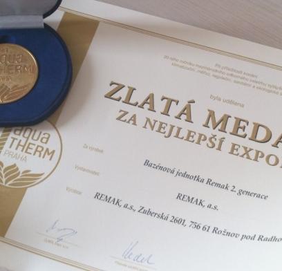 Aktualita - Zlatá medaile
