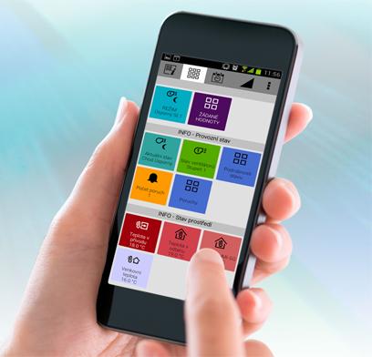 Mobilní aplikace REMAK