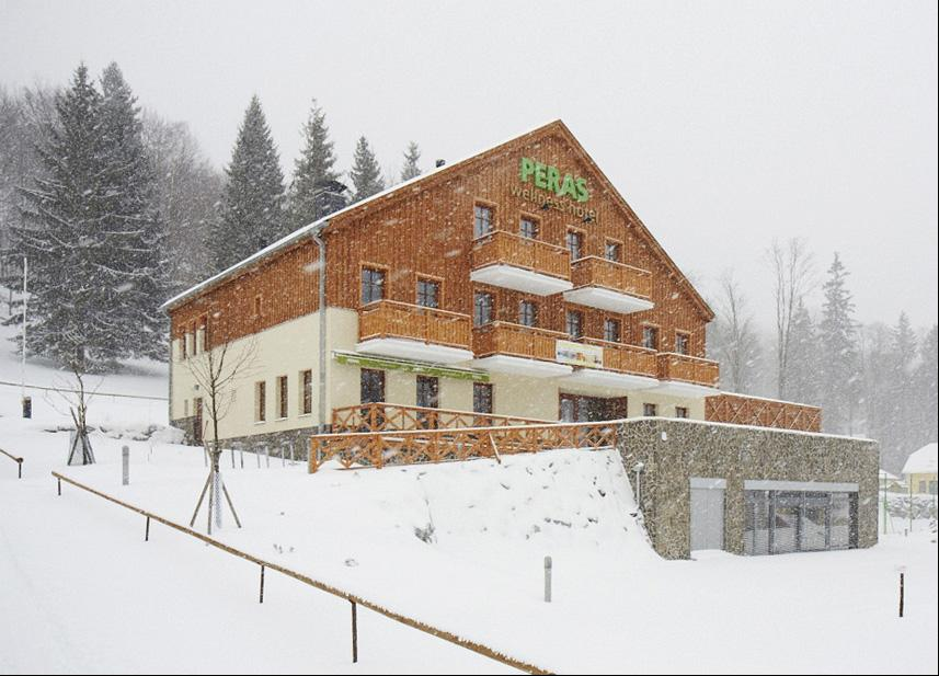 Reference CZ Ludvíkov Wellness hotel Peras
