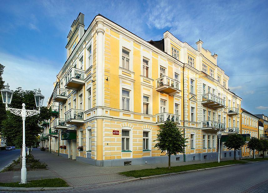 Reference CZ Spa & Kur hotel Praha - Františkovy Lázně