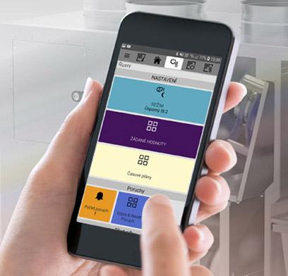 aktualita mobilní aplikace