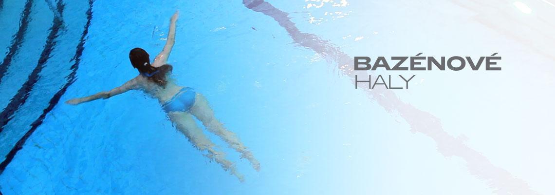 Bazénové haly s přesnou regulací teploty
