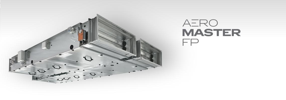 Ploché klimatizační jednotky AeroMaster FP