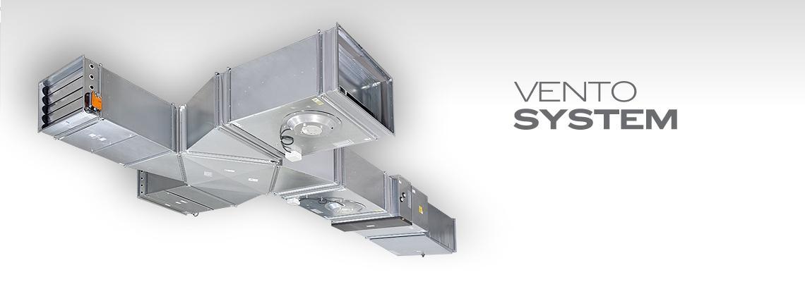 Potrubní klimatizační jednotky Vento system