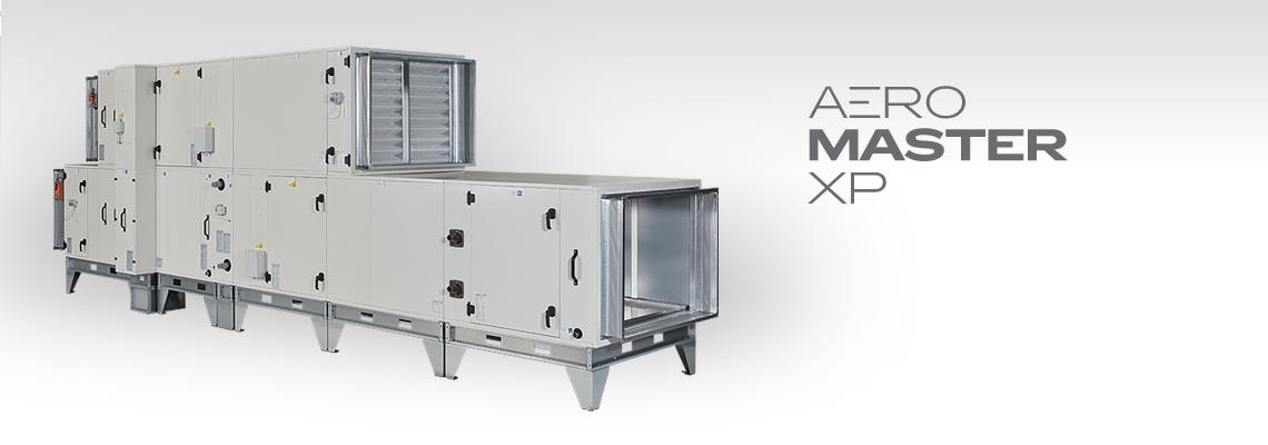 Sestavné vzduchotechnické jednotky AeroMaster XP