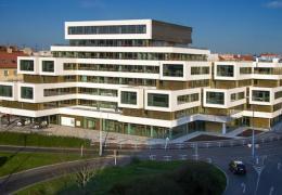 <p>Moderní administrativní budova Qubix se nachází ve vyhledávané lokalitě Prahy 4 Vyšehrad v blízkosti Kongresovéh</p>