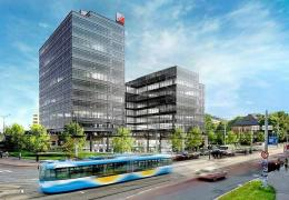 <p>Autorem návrhu Tieto Towers je Václav Hlaváček, architekt Studia Acht.</p>