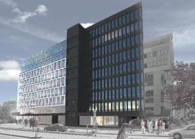 <p>Smart Office je nový polyfunkční dům tvořený z větší části moderními kancelářemi a infocentrem ekologických a en</p>
