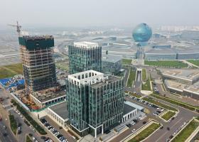 <p>19-этажное офисное здание класса А площадью 27 173 кв.</p>