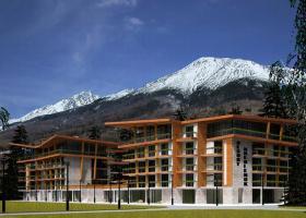 <p>Nově vybudovaný resort Hrebienok, nacházející se v srdci Vysokých Tater Starém Smokovci, realizoval i nové podze</p>
