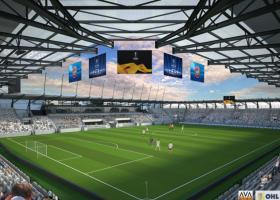 <p>Строительство нового футбольного стадиона в городе Кошице разделено на три этапа, причем после первого этапа буд</p>