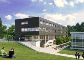 <p>Павильон расположен на северной окраине участка Факультета математики и физики в Трое, в непосредственной близос</p>