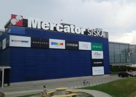 <p>Do obchodního centra v hlavním městě Slovinska – Ljubljany s názvem Mercator Šiška, které má po Slovinsku více n</p>