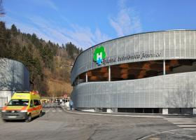 <p>Emergency reception center on the premises of the general hospital Jesenice (Slovenia), which has been providing</p>