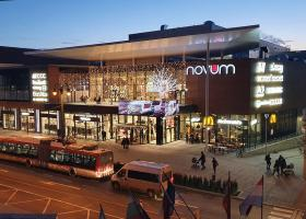 <p>Novum shopping center in the heart of the Slovak city of Prešov.</p>