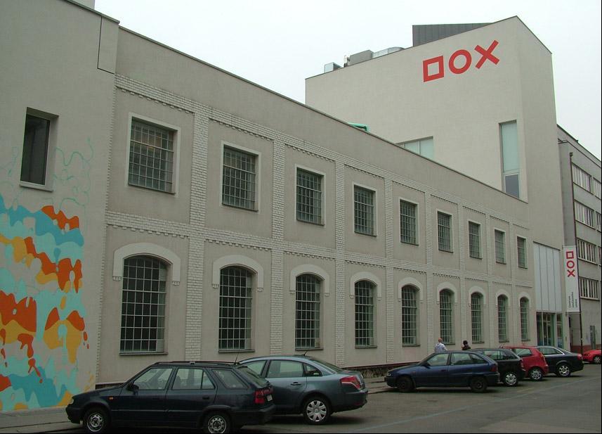 Reference CZ Centrum současného umění DOX