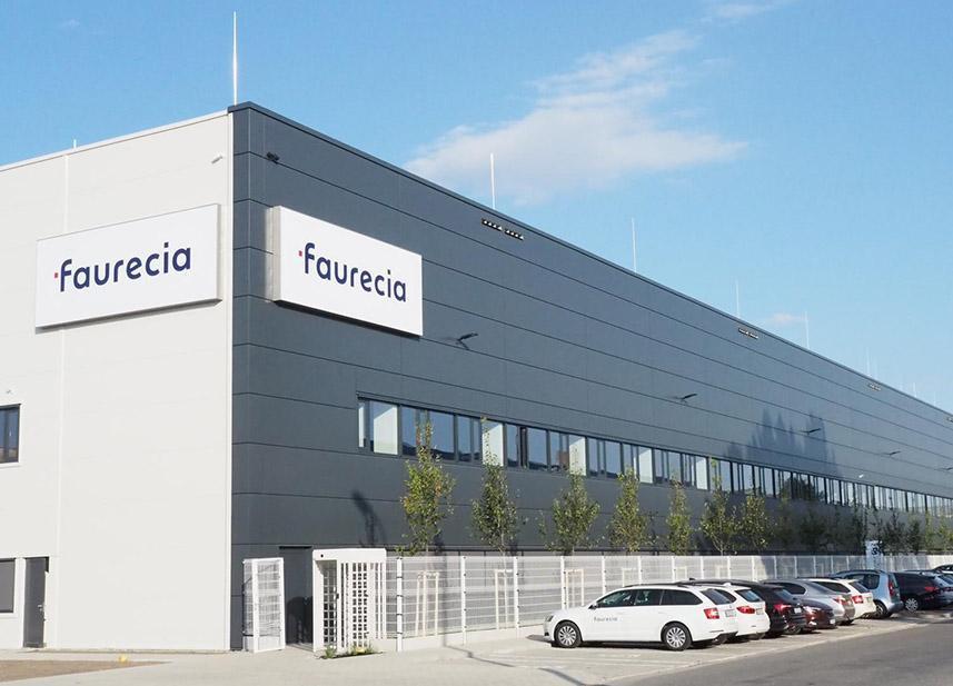 Reference 2021 - Faurecia Pardubice